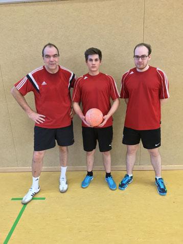 von links: Heiner Severit Rene Steinagel und Marius Dierks