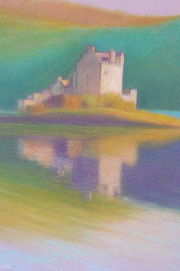 Eilean Donan castle 62.5x52.5cm