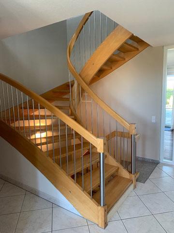 Der Wunsch war eine neue Treppe!