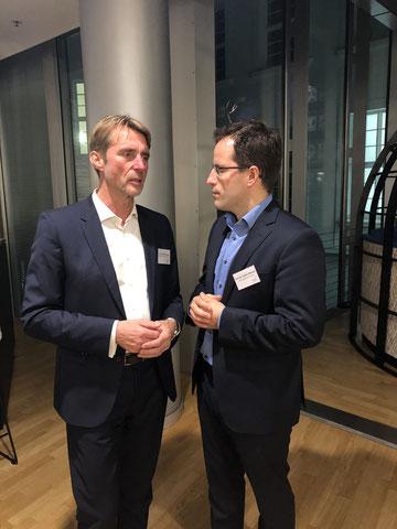 Geschäftsführer HGC und Prof. Dr. Lothar Winnen
