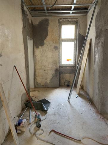 Sanierungsarbeiten Vorher