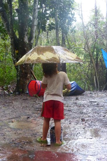 Nagual im Regen