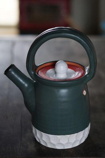 陶芸家 ブログ 土鍋作品 耐熱 直火 空焚き デザインが素敵 土瓶 やかん ポット