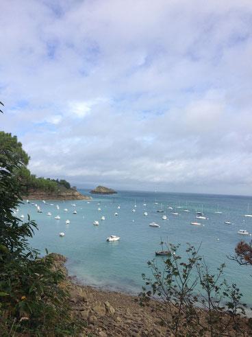 De la Pointe du Groin vers Cancale