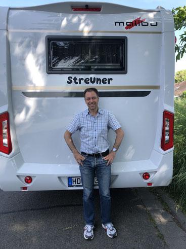 """Mein Wohnmobil hat den Namen """"Streuner"""" bekommen."""