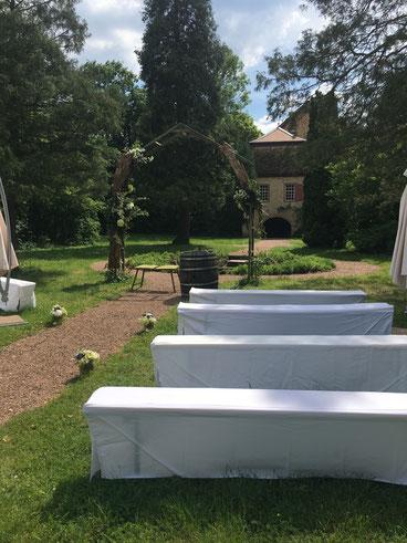 Hochzeit und Freie Trauung im Schlossgut Lüll.
