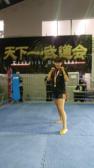 ダイエットで入会した主婦がキックボクシングの試合に出場。