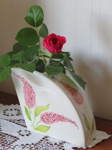 Vase: Fliedertraum