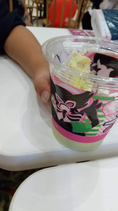 アイスのカップがポケモン