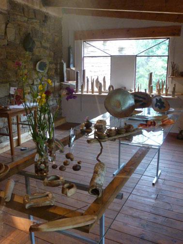 """"""" Art de la Table """" céramiques Bouquet de Flammes"""