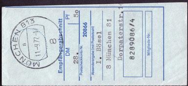 München 823 / b / 8