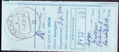 München 812 / a / 8