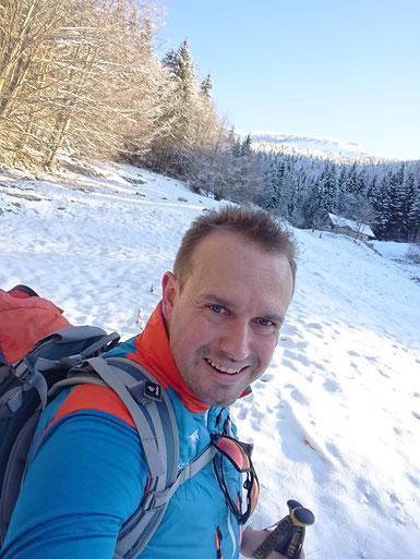 Markus Eisl in den Beregen