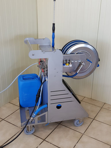 Centrale de nettoyage mobile