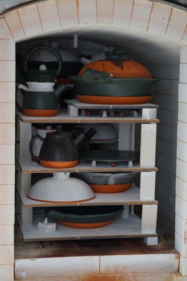 陶芸家 ブログ 土鍋作品 耐熱 直火 空焚き デザインが素敵 窯焚き