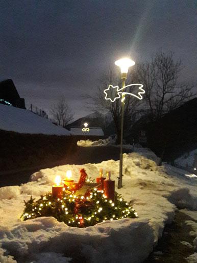 Dezember 2019: Advent, Advent, ein Lichtlein brennt ...
