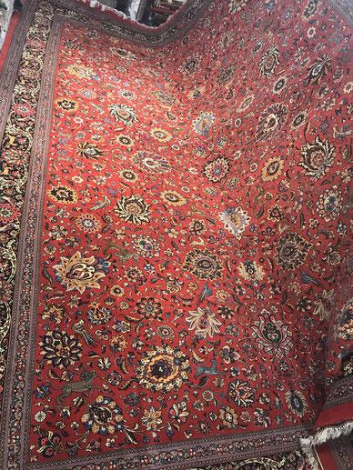 QUMwool  12㎡ wool&silk 素晴らしい絨毯です店内では広げられずすみません。
