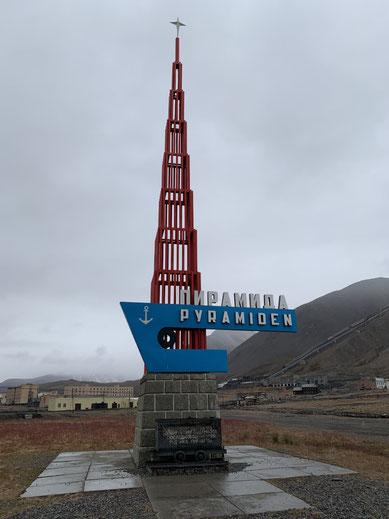 Spitbergen, Svalbard, Islfjord, Pyramiden,