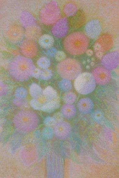 Blumenstrauss von Freude 62.5cmx52.5cm