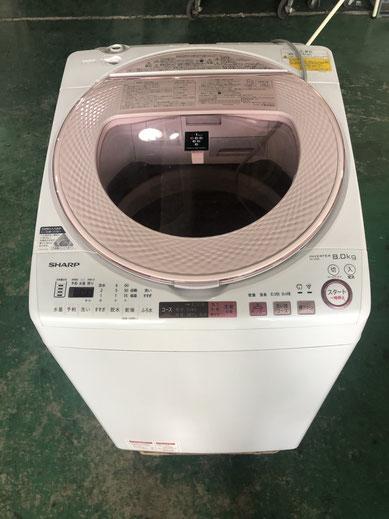 SHARP全自動洗濯機