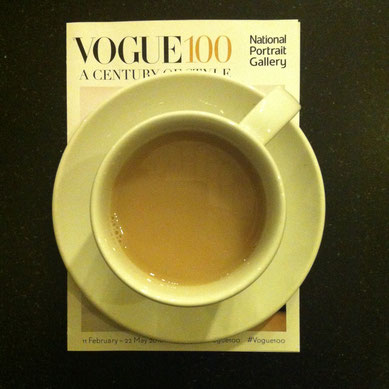 National Portrait Gallery Vogue Portrait Cafe top tea blogger