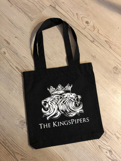 The Kingspipers Band Merchandise Tasche Logo