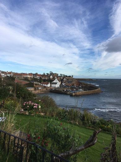 Das Küstenörtchen Crail in Fife