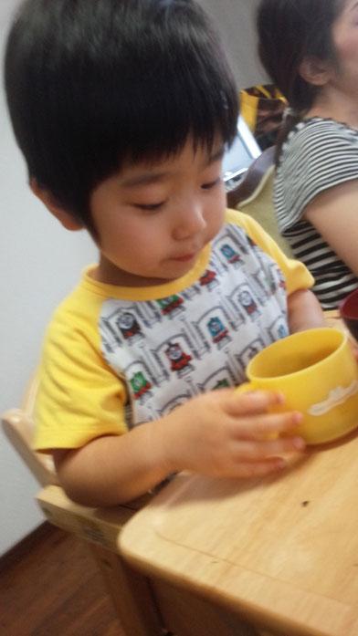 社長の子供の写真