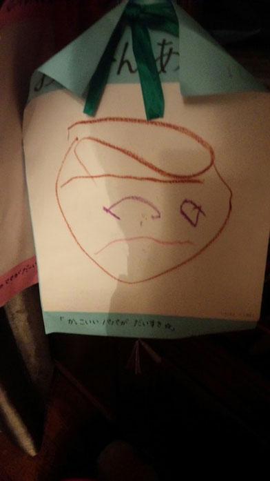 社長の子供が描いた絵