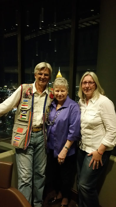 "Marge, our angel of Atlanta (with a ""crown"" of the Bank of America) - may god bless you !"