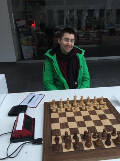 2. Schachbundesliga 2016 in Magdeburg, Hendrik Schaffer