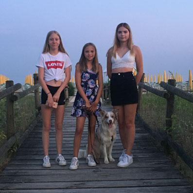 Lena, Selina und Denise mit Sia