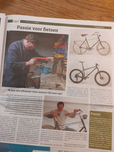 Artikel in de Veluwse Courant