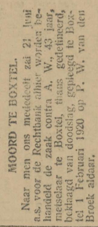Provinciale Noordbrabantsche en 's Hertogenbossche courant 09-06-1921