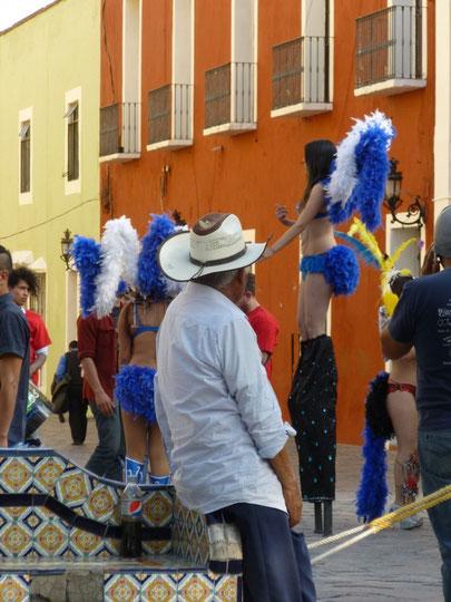 Le jour du Carnaval, certains s'en mettent plein les yeux