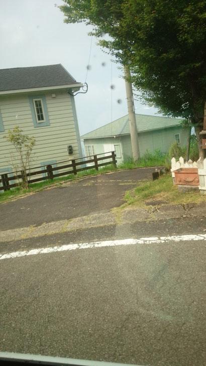 霧島の別荘地の写真