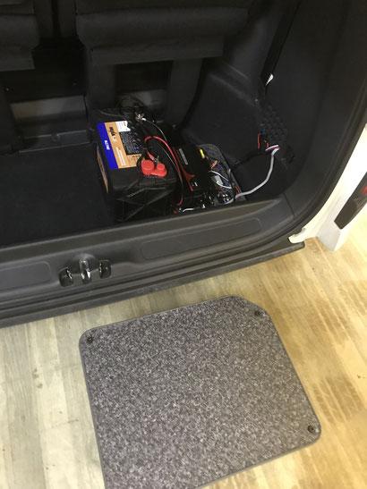 ステップワゴンにもサブバッテリーシステムを取り付けました