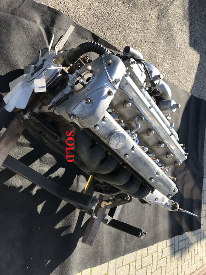 Maserati Mistral 6-cyl. blok 3.7 nummero interno 2174