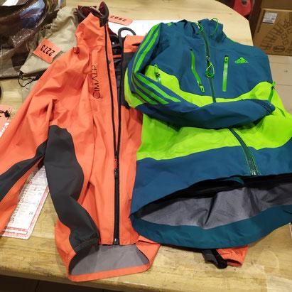 Remplacement du zip sur veste technique, à partir de 45 €