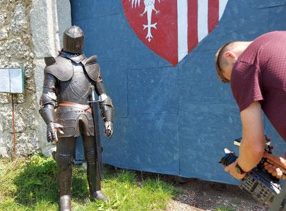 Burgen- und Schlösserweg von Grein bis Velesin
