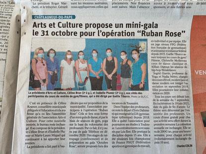 Céline Brun Association Arts et culture Châteauneuf du pape