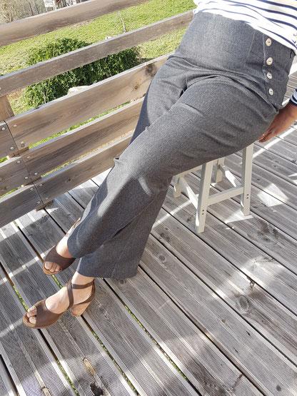 Pantalon frances, ottobre édition 2/2018 par danse des aiguilles