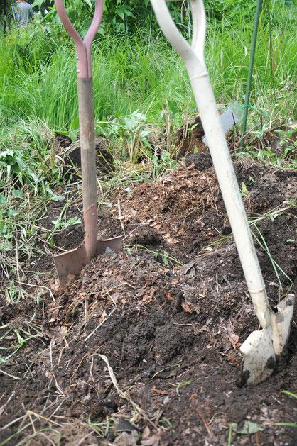 堆肥づくり@さとやま農学校・すどう農園