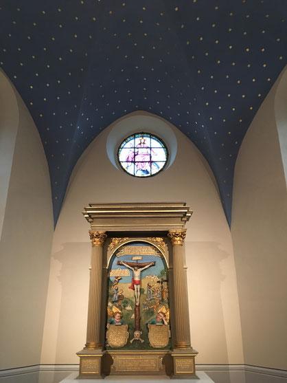Innenansicht Maxener Kirche, 2018, Foto: G. Niggemann-Simon