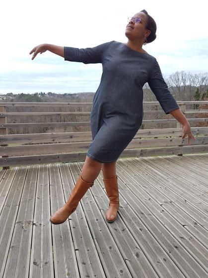 robe scarlett, les lubies de cadia_danse des aiguilles