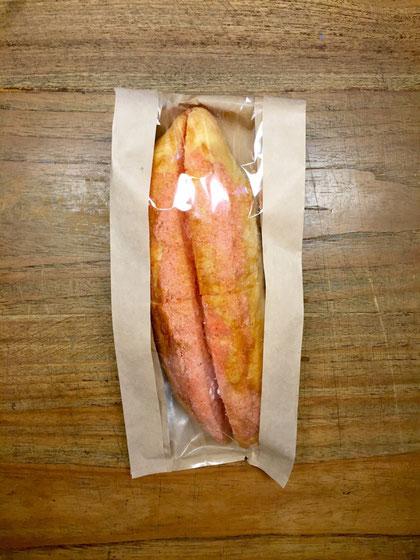 明太フランス! 今まで食べた明太フランスの中で一番うまかった‼ まじリピリます♪ 山本さんありがとうございました。 *ル~ビ~と一緒にやっつけたかったな~www