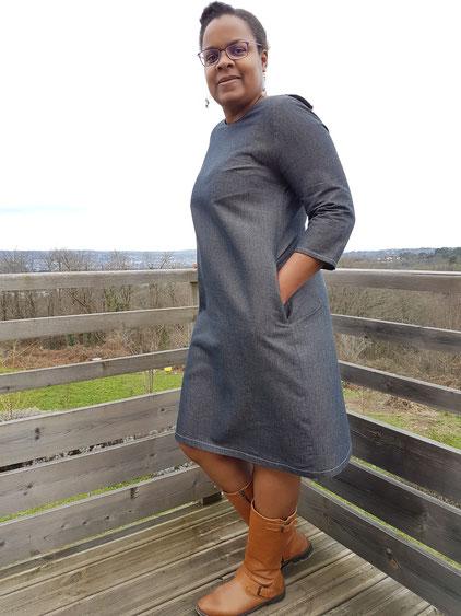 robe scarlett, les lubies de cadia par danse des aiguilles