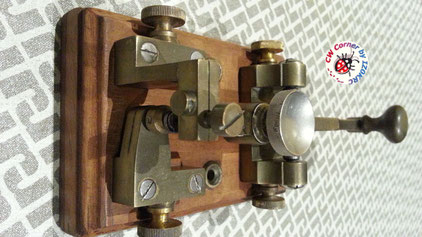 Very early Ericsson long lever key