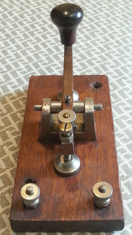 Morse Key AWA - Marconi Wireless School