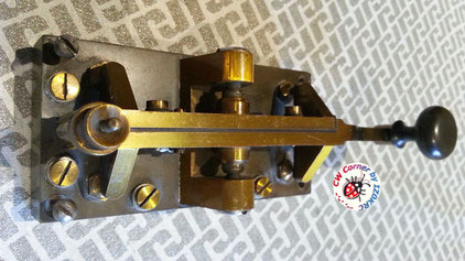 Unknow Swedish optical telegraph key